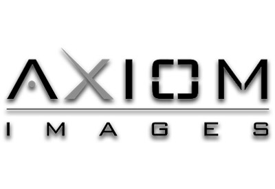 Axiom Images logo black and white
