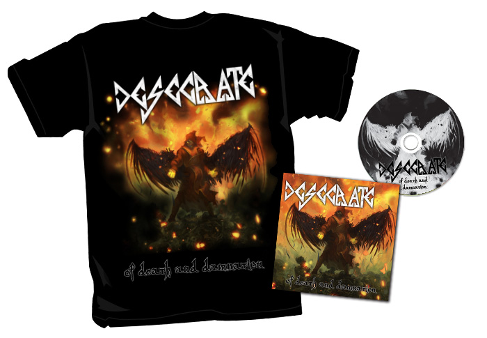 T-shirt and album design for <br>