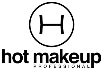 Hot Makeup Professional logo black and white